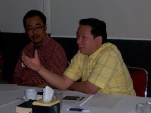 Diskusi aktif peserta workshop