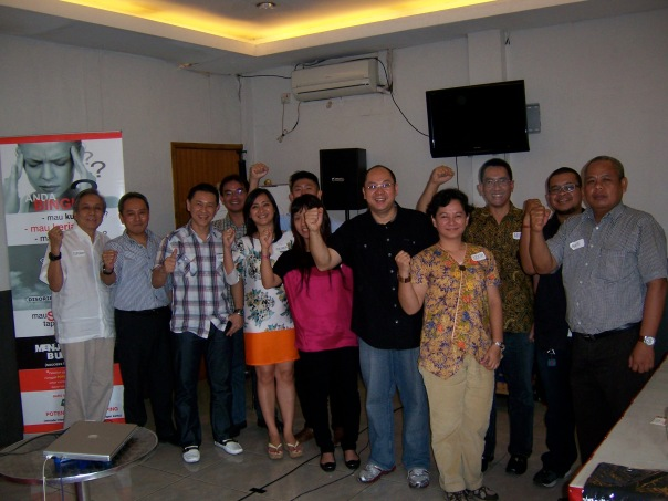Foto bersama peserta batch #3